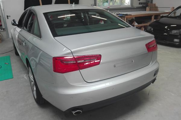 Audi A6 Vorher