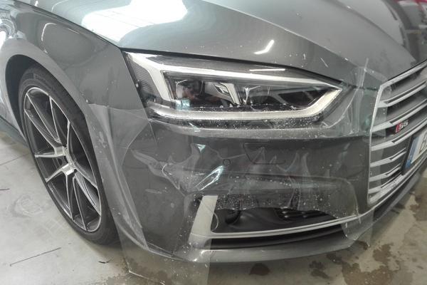 Audi S5 Steinschlagschutzfolie Transparent