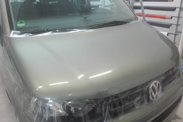 VW T5 Bulli Steinschlagschutz Motorhaube