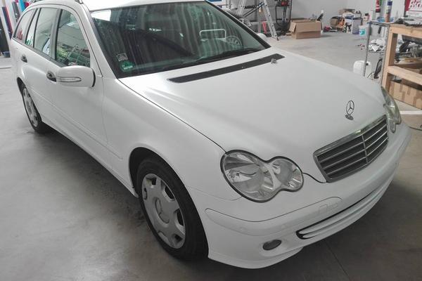 Mercedes - Vollfoierung Vorher