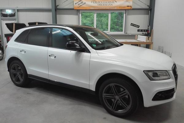 Audi - Vollfolierung Nachher