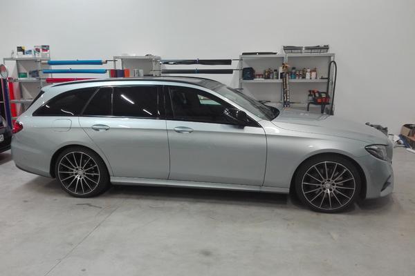 Mercedes E Klasse - Vorher