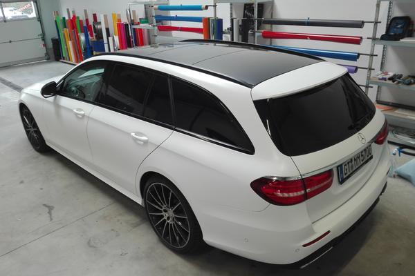 Mercedes E Klasse - Nachher